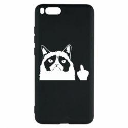 Чохол для Xiaomi Mi Note 3 Grumpy cat F**k Off
