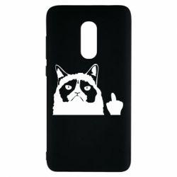 Чохол для Xiaomi Redmi Note 4 Grumpy cat F**k Off