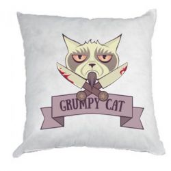Подушка Grumpy Cat - FatLine