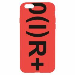 Чехол для iPhone 6/6S Группа крови (1)0+