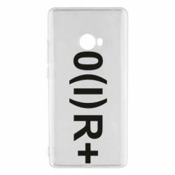 Чехол для Xiaomi Mi Note 2 Группа крови (1)0+