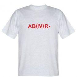 Футболка Группа крови (4)АВ-