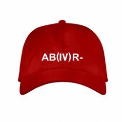 Детская кепка Группа крови (4)АВ-