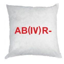 Подушка Группа крови (4)АВ-
