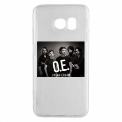 Чехол для Samsung S6 EDGE Группа Океан Ельзы