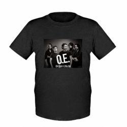 Детская футболка Группа Океан Ельзы - FatLine
