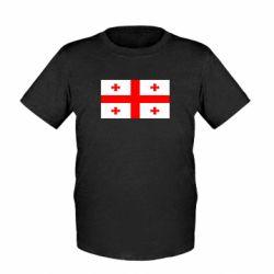 Детская футболка Грузия - FatLine