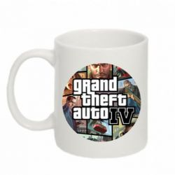 Кружка 320ml GTA 4 Logo