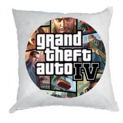 Подушка GTA 4 Logo - FatLine
