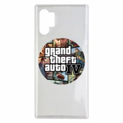 Чехол для Samsung Note 10 Plus GTA 4 Logo