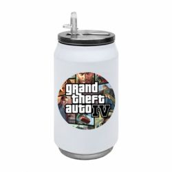 Термобанка 350ml GTA 4 Logo