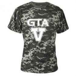 Камуфляжная футболка GTA 5 - FatLine