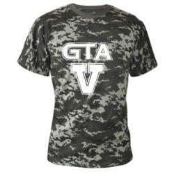 Камуфляжная футболка GTA 5