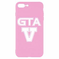 Чехол для iPhone 8 Plus GTA 5
