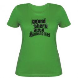 Женская футболка GTA San Andreas - FatLine