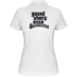 Женская футболка поло GTA San Andreas - FatLine