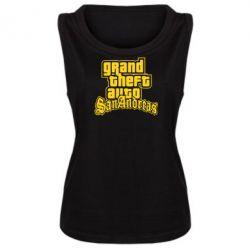 Женская майка GTA San Andreas - FatLine