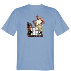 Мужская футболка GTA V Logo - FatLine