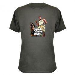 Камуфляжная футболка GTA V Logo - FatLine