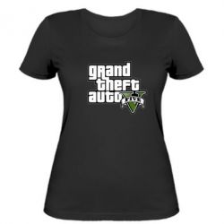 Женская футболка GTA V Maine Logo