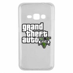 Чехол для Samsung J1 2016 GTA V Maine Logo