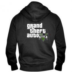 Мужская толстовка на молнии GTA V Maine Logo