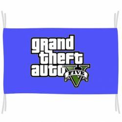 Флаг GTA V Maine Logo