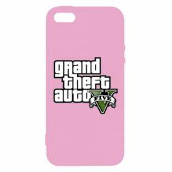 Чехол для iPhone5/5S/SE GTA V Maine Logo
