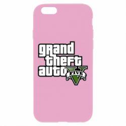 Чехол для iPhone 6/6S GTA V Maine Logo