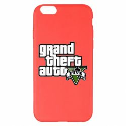 Чехол для iPhone 6 Plus/6S Plus GTA V Maine Logo