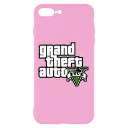 Чехол для iPhone 7 Plus GTA V Maine Logo