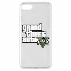 Чехол для iPhone 8 GTA V Maine Logo