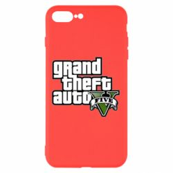 Чехол для iPhone 8 Plus GTA V Maine Logo