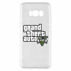 Чехол для Samsung S8 GTA V Maine Logo