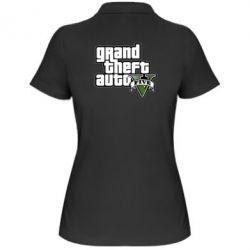 Женская футболка поло GTA V Maine Logo - FatLine