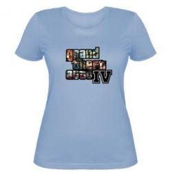 Женская футболка GTA V