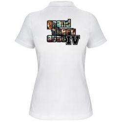 Женская футболка поло GTA V - FatLine