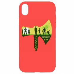 Чохол для iPhone XR Guardians of the galaxy are depicted on the ax