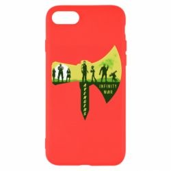 Чохол для iPhone 7 Guardians of the galaxy are depicted on the ax