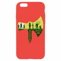 Чохол для iPhone 6/6S Guardians of the galaxy are depicted on the ax