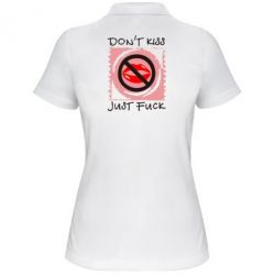 Женская футболка поло губки - FatLine