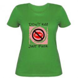 Женская футболка губки