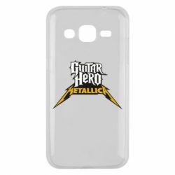 Чехол для Samsung J2 2015 Guitar Hero Metallica - FatLine