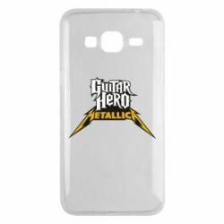 Чехол для Samsung J3 2016 Guitar Hero Metallica - FatLine