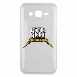 Чехол для Samsung J5 2015 Guitar Hero Metallica - FatLine