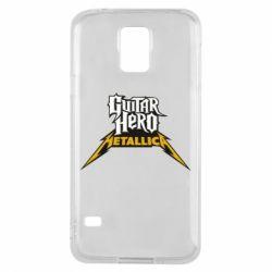 Чехол для Samsung S5 Guitar Hero Metallica - FatLine