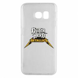 Чехол для Samsung S6 EDGE Guitar Hero Metallica - FatLine