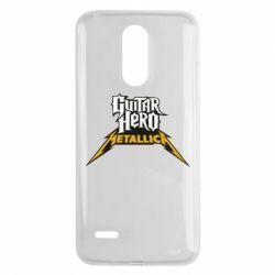 Чехол для LG K8 2017 Guitar Hero Metallica - FatLine