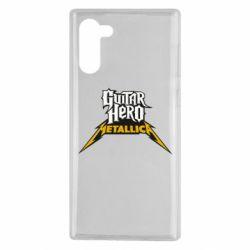 Чохол для Samsung Note 10 Guitar Hero Metallica