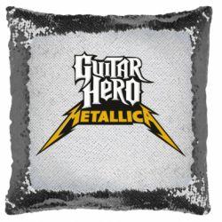 Подушка-хамелеон Guitar Hero Metallica